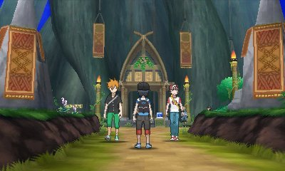 Pokémon Sonne und Mond: Kampfbaum - Trainer Rot und Blau besiegen