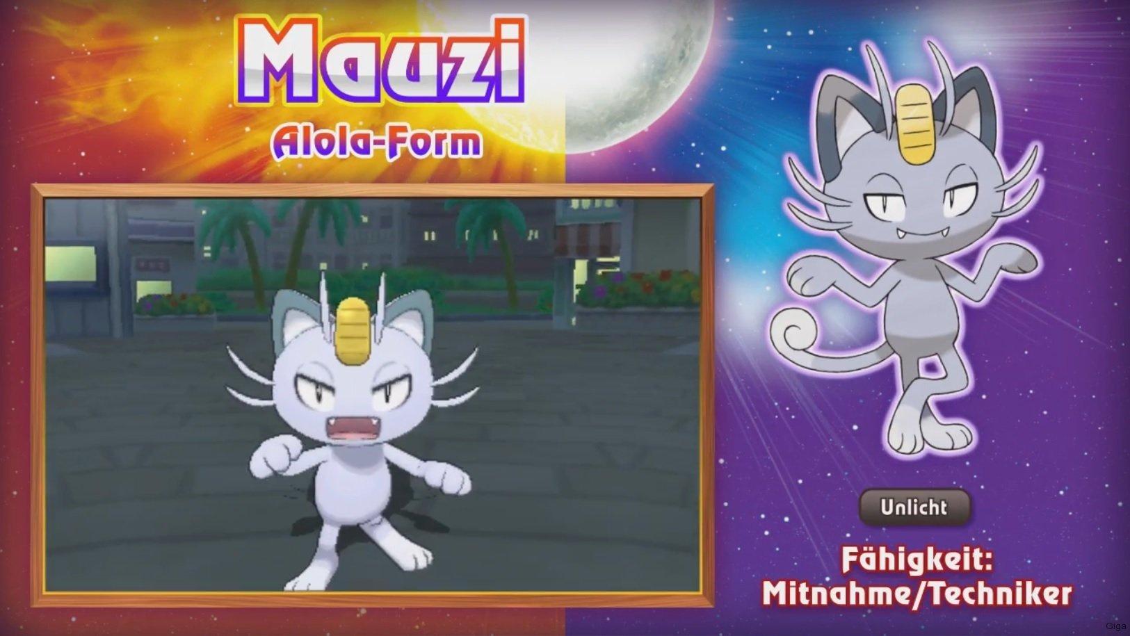 Pokémon Sonne & Mond: Features und Neuerungen im Detail – GIGA
