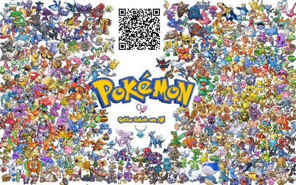 Pokémon Sonne Und Mond Qr Codes Für Alle Pokemon