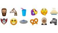 Hipsterbart, UFO und T-Rex – diese Emojis kommen 2017