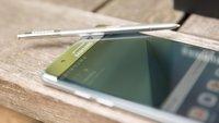 Samsung: Kunden trotz Galaxy-Note-7-Desaster loyal
