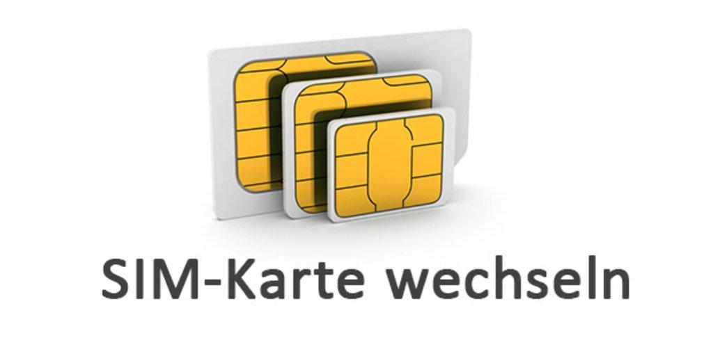 sim karte tauschen ohne datenverlust SIM Karte wechseln & tauschen – so geht's