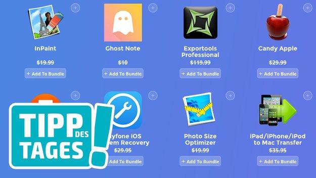 Software-Bundle für Mac selbst zusammenstellen