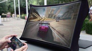 Kickstarter: Tragbarer 24-Zoll-Monitor lässt sich aufspannen wie ein Regenschirm