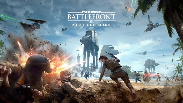Star Wars Battlefront: Release-Termin für DLC zu Rogue One: A Star Wars Story