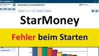 Lösung: Fehler beim Starten von StarMoney – so geht's wieder