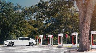 Tesla: Jetzt müssen Kunden doch fürs Laden an den Superchargern zahlen