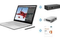 Surface Book mit Nvidia-GPU, Dock und Office 365 für 1.399 Euro