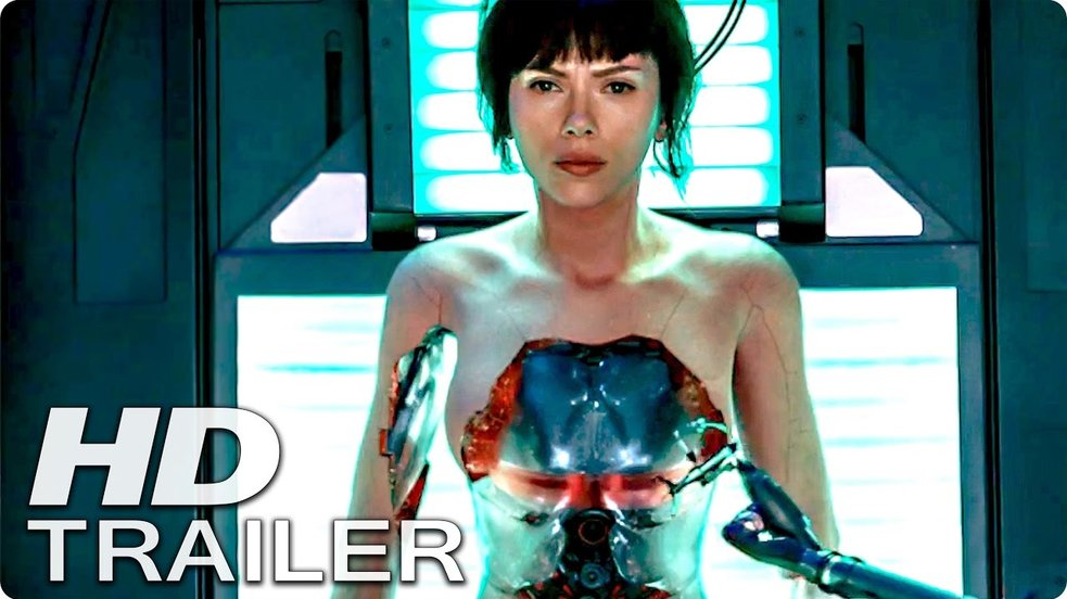 Ghost In The Shell - Trailer-Check