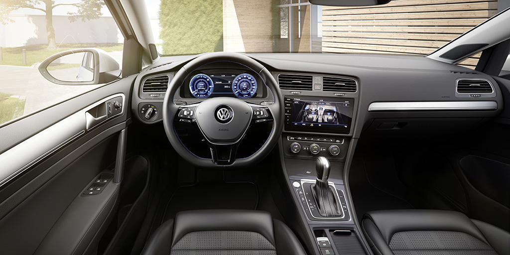 VW E-Golf 2017 Interieur (Quelle: VW)