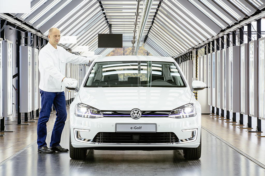 VW E-Golf 2017 (Quelle: VW)