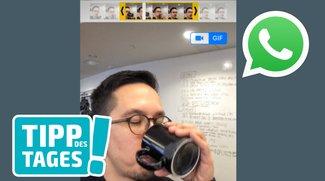 Tipp: Mit WhatsApp animierte GIFs erstellen und versenden