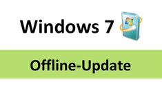 Windows 7: Manuelles Offline-Update machen – so geht's