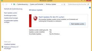 Lösung: Windows-Update hängt – so geht's trotzdem (Windows 7, 8, 10)