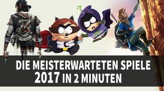 Supercut: Die Most-Wanted-Games für 2017 in 2 Minuten