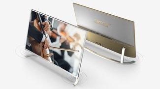 Acer Aspire C22 und C24: All-in-One-PCs mit schickem Design vorgestellt
