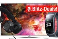Amazon Blitzangebote:<b> LG Fernseher, Philips Hue Produkte, Samsung Gear Fit 2 u.v.m. stark reduziert!</b></b>