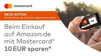 Knaller! 10 Euro Amazon-Gutschein bei Zahlung per Mastercard