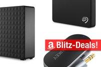 Blitzangebote: 5-Terabyte-Festplatte, Bluetooth-Transmitter und mehr heute günstiger