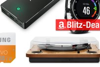 Sonntagsangebote: UHD-Fernseher, USB-Plattenspieler, Akku u.v.m. heute günstiger