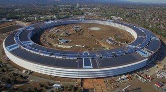 Apple Campus 2: Video zeigt Baufortschritte der vergangenen sechs Monate im Zeitraffer