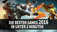 Supercut: Die besten Games 2016 in 2 Minuten