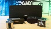 Bluetooth-Lautsprecher: JBL, Dockin, Anker, Bose und Teufel im Test