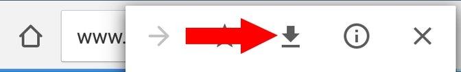 Chrome Offline Download-Symbol