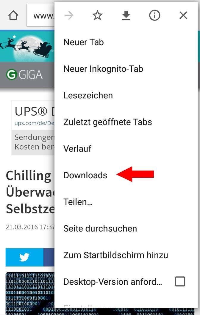 Chrome Offline Downloads