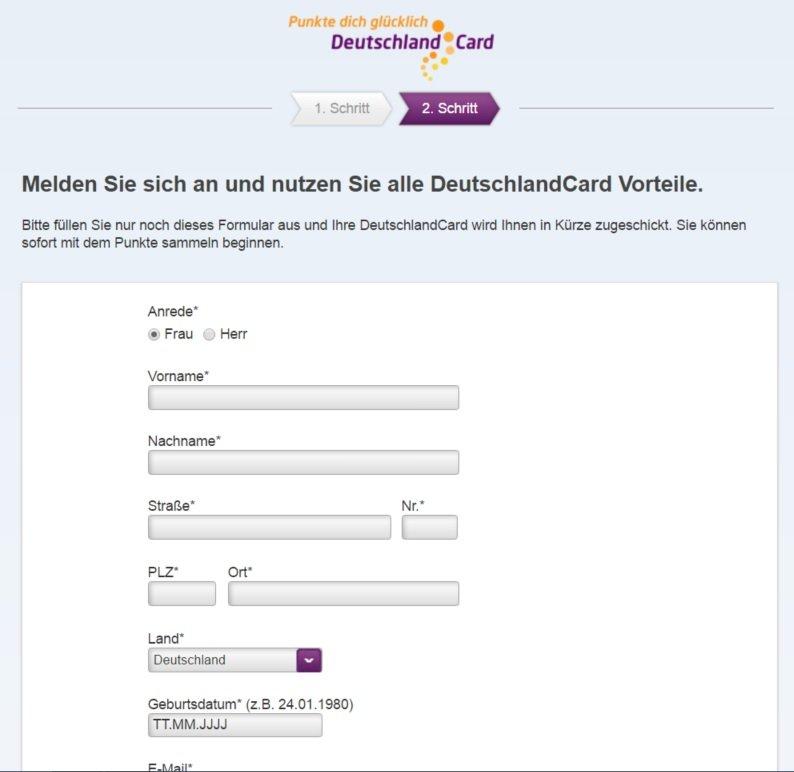 deutschlandcard de