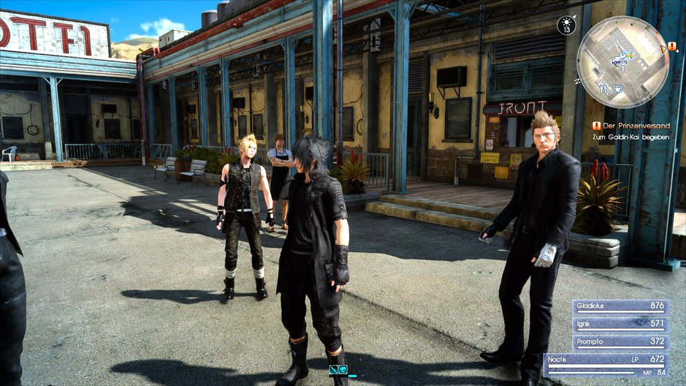 FF XV Outfits