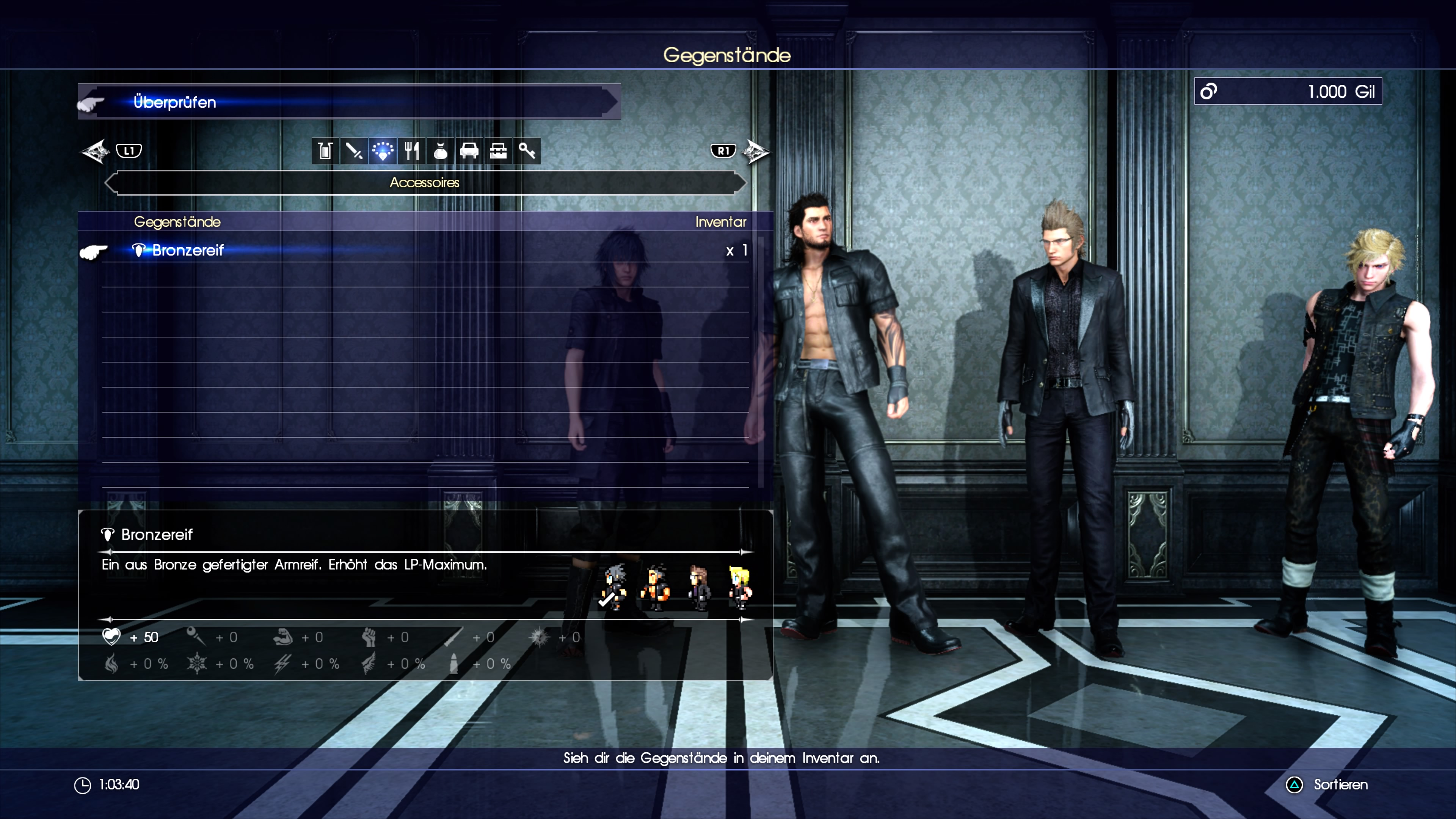 Final Fantasy 15 Alle Accessoires Fundorte Belohnungen Und Beute