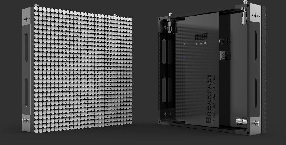 Das Flip-Disc-System besteht aus Modulen (Quelle: Hersteller)