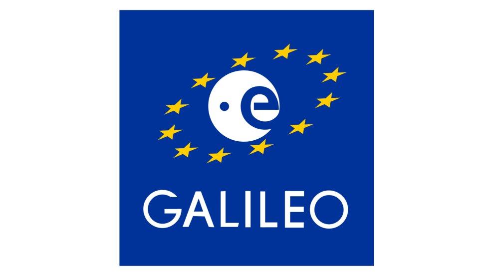 Das Logo des europäischen Satellitennavigations- und Zeitgebungssystems Galileo (Quelle: Wikipedia)