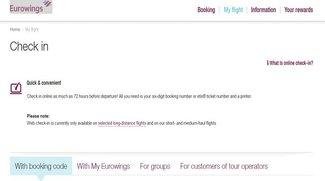 Germanwings Online Check-In: Das müsst ihr beachten