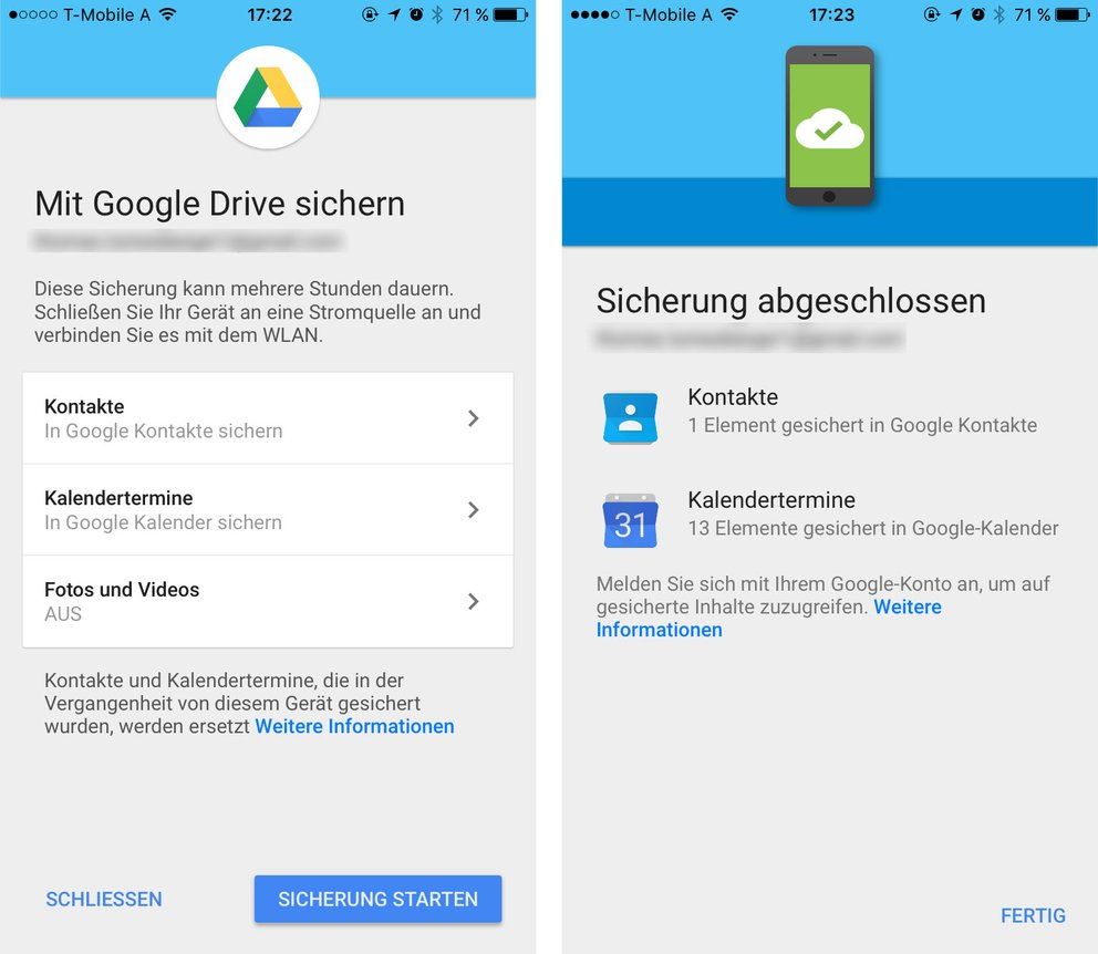 wechsel vom iphone auf android neues google drive feature erleichtert den umzug giga. Black Bedroom Furniture Sets. Home Design Ideas