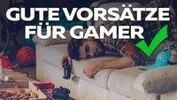 Das Jahr 2017: Die besten Vorsätze für Gamer