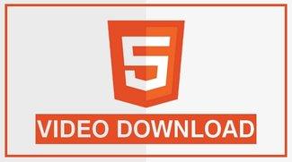 HTML5 Video Download: So speichert ihr ganz einfach Videoclips