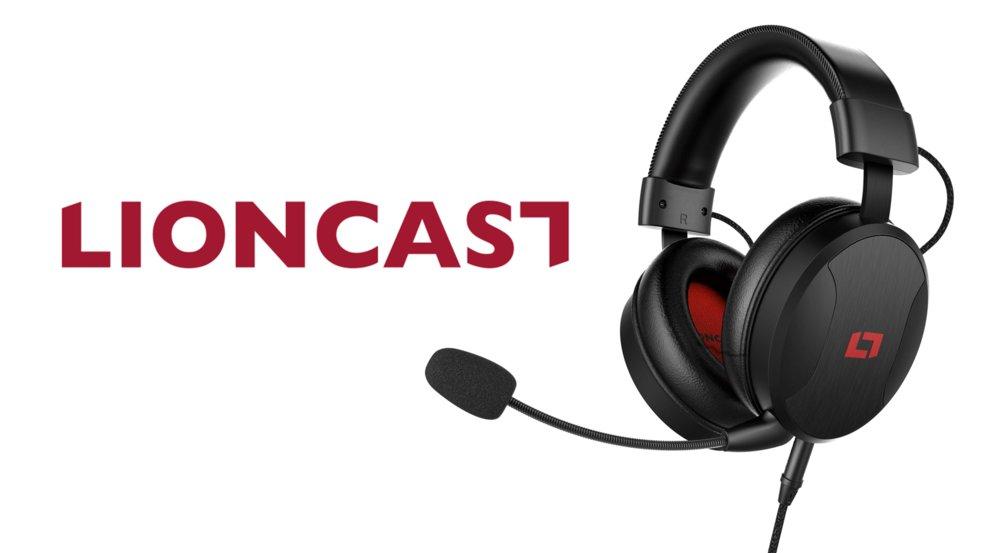Lioncast LX50: Modulares High-End-Headset für Games, Musik und Filme ab heute erhätlich