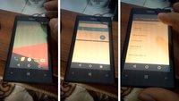 Android 7.1 auf dem Lumia 520: Neues Leben für das Windows-Smartphone