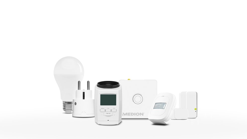 "Medion Smart Home Set ""Energie"" (Quelle: Medion)"