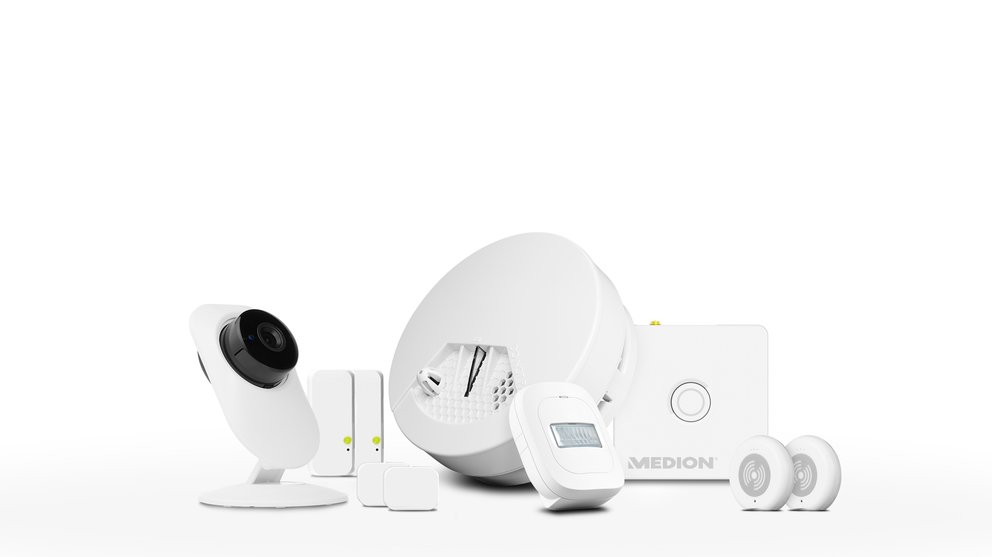 "Medion Smart Home Set ""Sicherheit"" (Quelle: Hersteller)"