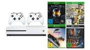 Xbox One S Sparpaket für 319 Euro: Konsole mit 500 GB, 2 Controller, 3 Spiele und UHD-Film