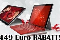 Spart 449 Euro beim Kauf eines Microsoft Surface Pro 4 inklusive Type Cover!