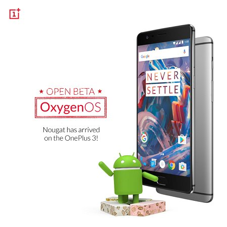 OnePlus 3 Android 7.0 Beta 8 OxygenOS