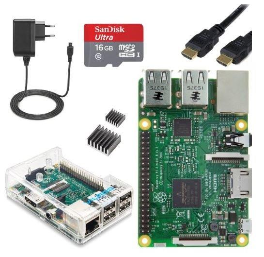 Raspberry Pi 3 B Mediacenter Kodi