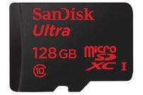 SanDisk Ultra microSDHC-Speicherkarte, 128 GB, 80 Mbit/s, Class 10 für 33 Euro – nur heute Nacht von 20 bis 9 Uhr