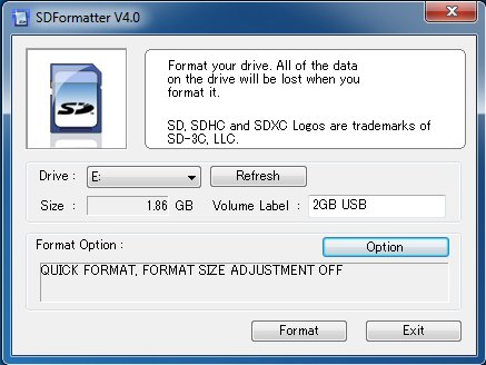 Micro Sd Karte Formatieren.Sdformatter Download