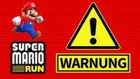 Warum Du auf keinen Fall Super Mario Run spielen solltest