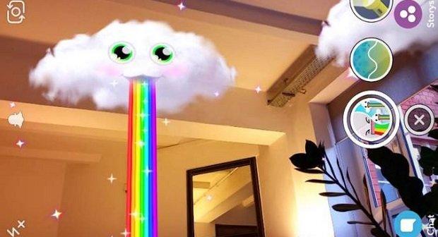 Snapchat Weltlinsen